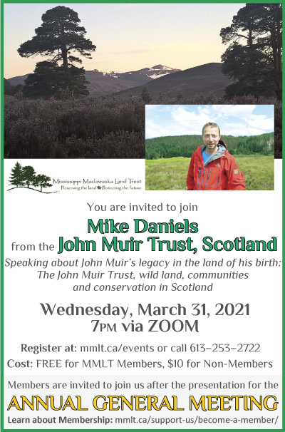 Featured image for MMLT Talk w/John Muir Trust & AGM