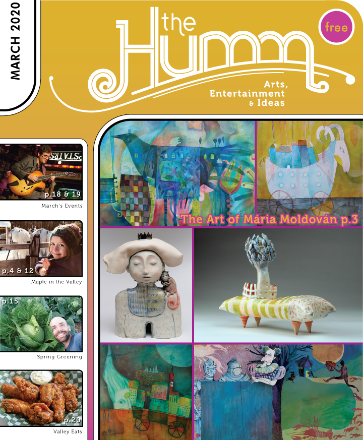 theHumm in print March 2020
