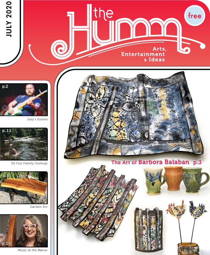 theHumm in print July 2020