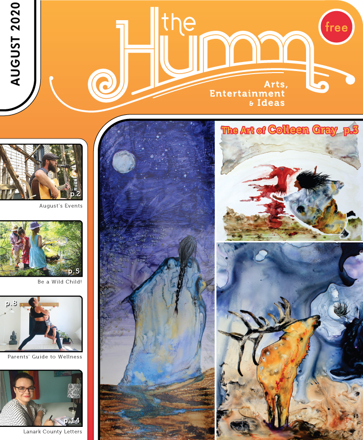 theHumm in print August 2020